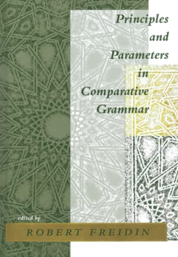 9780262525596: Principles and Parameters in Comparative Grammar (Current Studies in Linguistics)