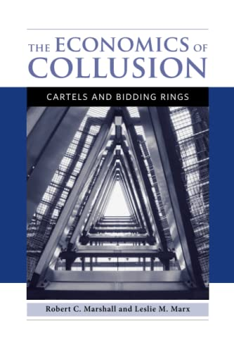 9780262525947: The Economics of Collusion: Cartels and Bidding Rings
