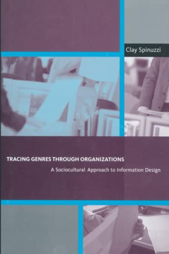 9780262527064: Tracing Genres through Organizations: A Sociocultural Approach to Information Design (Acting with Technology)