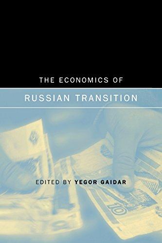 9780262527286: The Economics of Russian Transition (MIT Press)