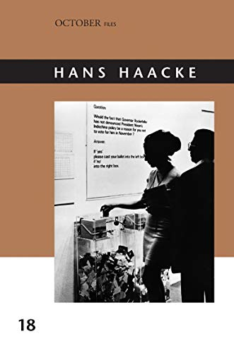 9780262527934: Hans Haacke (Volume 18) (October Files (18))