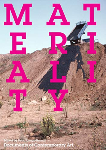 9780262528092: Materiality (Whitechapel: Documents of Contemporary Art)