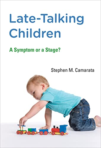 9780262528368: Late-Talking Children: A Symptom or a Stage? (MIT Press)