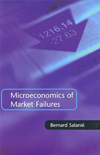 9780262528566: Microeconomics of Market Failures (The MIT Press)