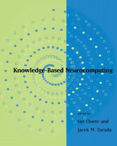9780262528733: Knowledge-Based Neurocomputing (MIT Press)