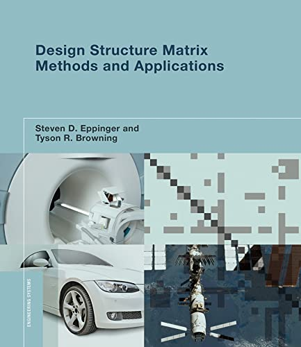9780262528887: Design Structure Matrix Methods and Applications