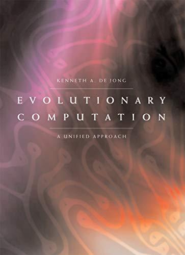 9780262529600: Evolutionary Computation: A Unified Approach