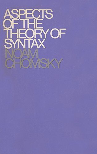 9780262530071: Aspects of the Theory of Syntax (Massachusetts Institute of Technology. Research Laboratory o)