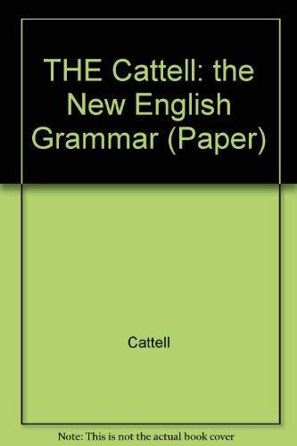 9780262530101: The New English Grammar: A Descriptive Introduction