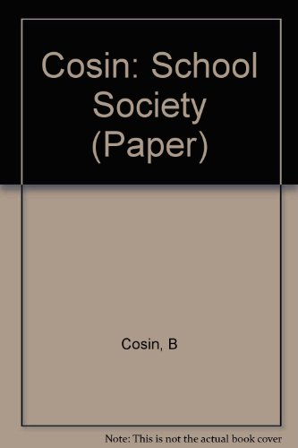 9780262530224: School and Society: A Sociological Reader