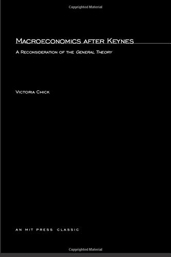 9780262530453: Macroeconomics After Keynes: Reconsideration of the General Theory