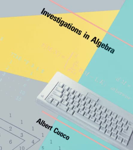 9780262530712: Investigations in Algebra: An Approach to Using LOGO (Exploring With Logo Series)