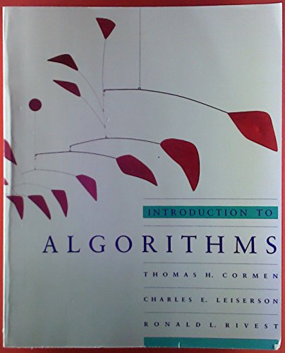 9780262530835: Introduction to Algorithms