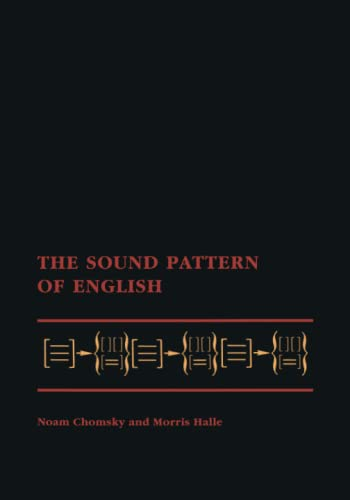 9780262530972: The Sound Pattern of English