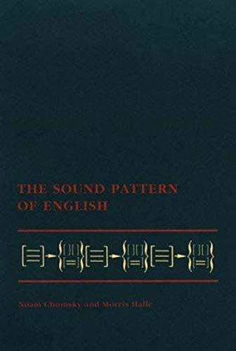 9780262530972: The Sound Pattern of English (MIT Press)
