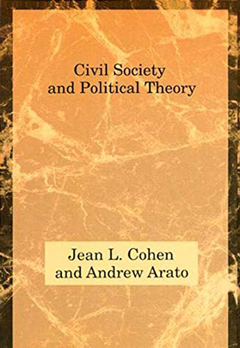 9780262531214: Civil Society and Political Theory