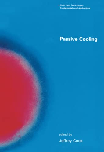 9780262531719: Passive Cooling (Solar Heat Technologies)