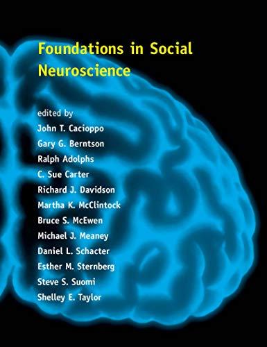 9780262531955: Foundations in Social Neuroscience (Social Neuroscience)