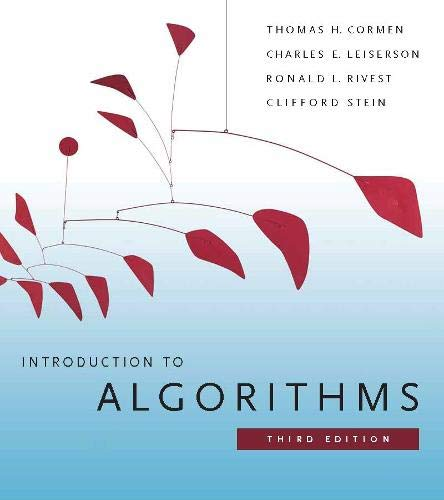 9780262533058: Introduction to Algorithms, Third Edition (International Edition)