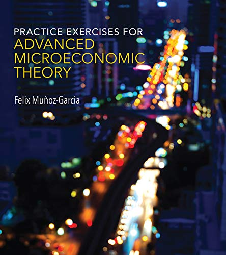 9780262533140: Practice Exercises for Advanced Microeconomic Theory (MIT Press)