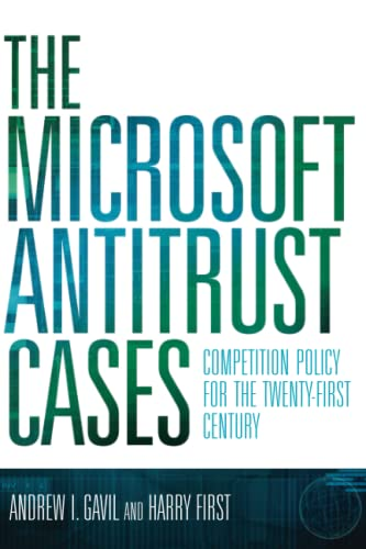 9780262533300: The Microsoft Antitrust Cases: Competition Policy for the Twenty-First Century