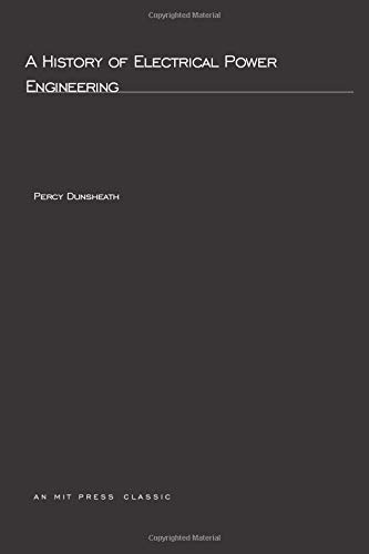 9780262540070: A History of Electrical Power Engineering (MIT Press)