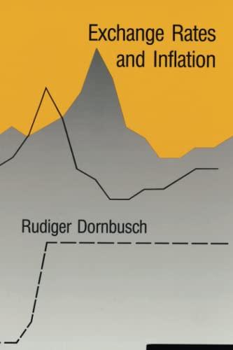 Exchange Rates and Inflation: Dornbusch, Rudiger