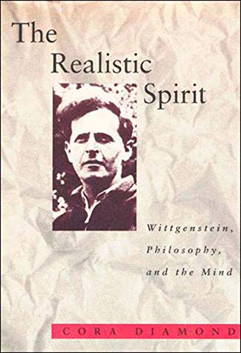 9780262540742: The Realistic Spirit (Representation and Mind series): Wittgenstein, Philosophy, and the Mind