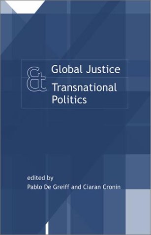 9780262541336: Global Justice and Transnational Politics