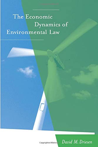 9780262541398: The Economic Dynamics of Environmental Law