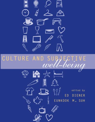 9780262541466: Culture and Subjective Well-Being (Well Being and Quality of Life)
