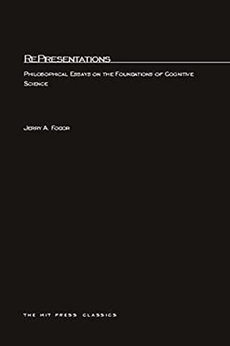 9780262560276: RePresentations (A Bradford Book)