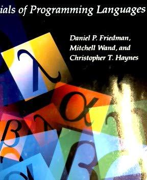 9780262560672: Essentials of Programming Languages