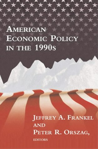 9780262561518: American Economic Policy in the 1990s
