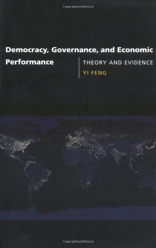 9780262562119: Democracy, Governance, and Economic Performance: Theory and Evidence (MIT Press)