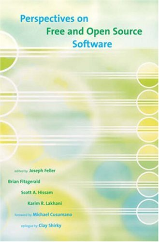9780262562270: Perspectives on Free and Open Source Software (The MIT Press)