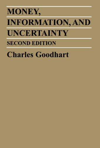 9780262570756: Money, Information and Uncertainty (MIT Press)