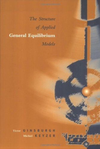 9780262571579: The Structure of Applied General Equilibrium Models
