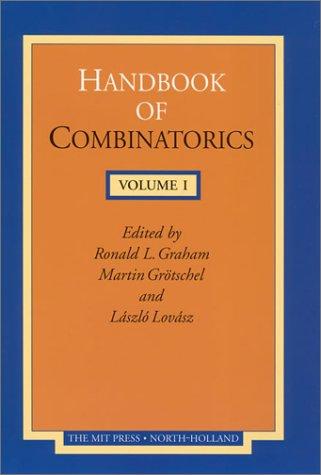 9780262571708: Handbook of Combinatorics, Volume 1