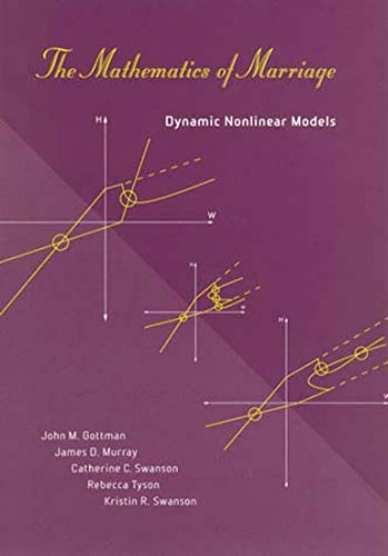9780262572309: The Mathematics of Marriage: Dynamic Nonlinear Models (MIT Press)