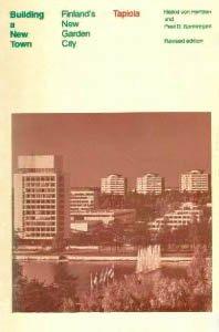 9780262580243: Building a New Town: Finland's New Garden City, Tapiola