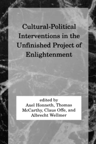 Cultural-Political Interventions in the Unfinished Project of Enlightenment (Studies in ...
