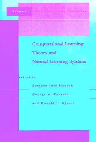 9780262581264: Computational Learning Theory and Natural Learning Systems, Vol. I: Constraints and Prospects
