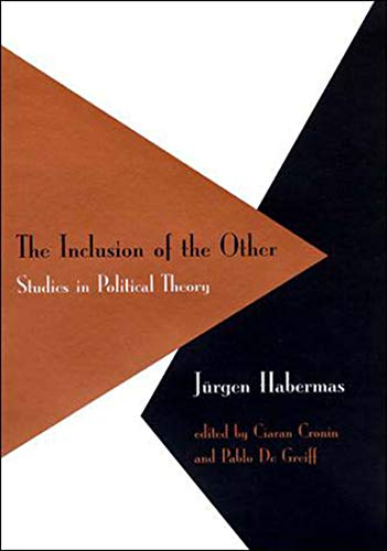 9780262581868: The Inclusion of the Other: Studies in Political Theory