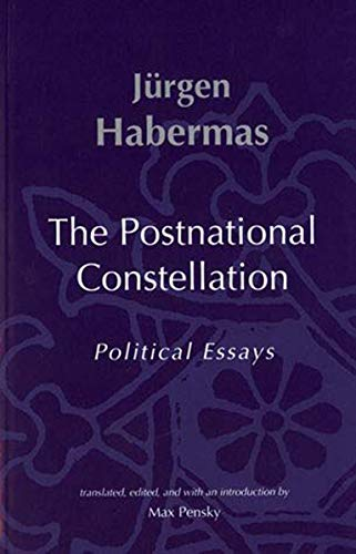 the post national constellation political essays Conducts scientific conferences on biomedical and life science topics in relaxing environments that catalyze information exchange and networking meetings are designed to.