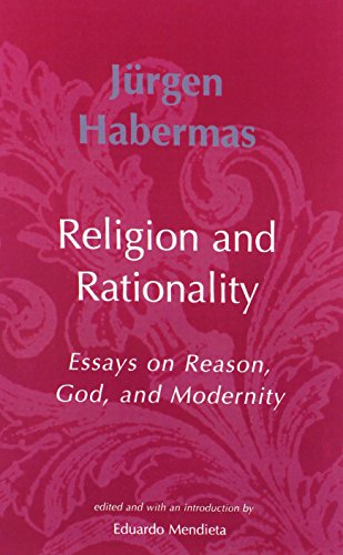 9780262582162: Religion and Rationality: Essays on Reason, God and Modernity (Studies in Contemporary German Social Thought)