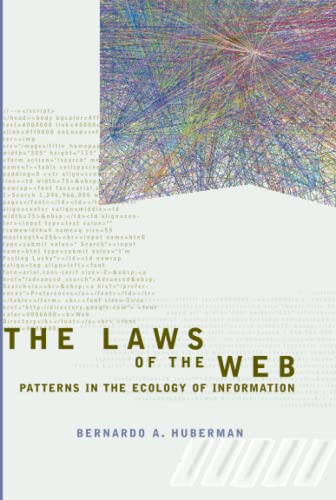 9780262582254: The Laws of the Web: Patterns in the Ecology of Information (MIT Press)