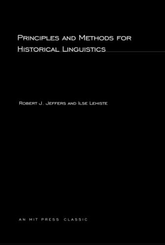 9780262600118: Principles and Methods for Historical Linguistics