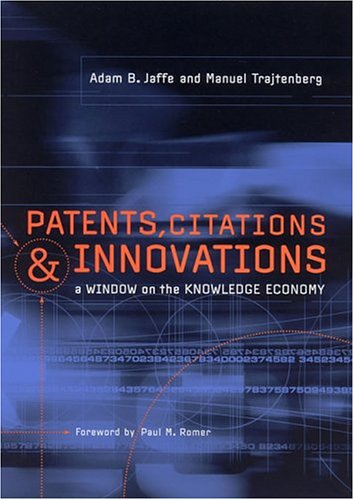 9780262600651: Patents, Citations, and Innovations: A Window on the Knowledge Economy (MIT Press)