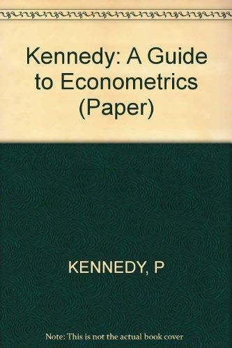 9780262610315: A Guide to Econometrics (Paper)